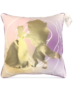 Disney Beauty  The Beast GraphicPrint 16 Square Decorative Pillow Bedding