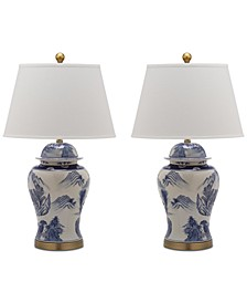 Shanghai Set of 2 Table Lamps