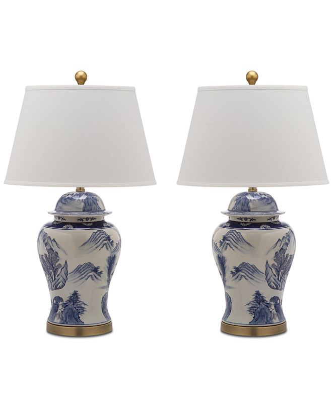 Safavieh Shanghai Set of 2 Table Lamps