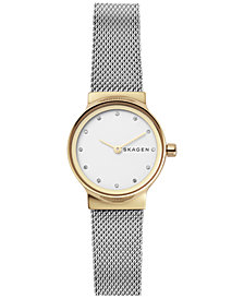 Skagen Women's Freja Stainless Steel Bracelet Watch 26mm