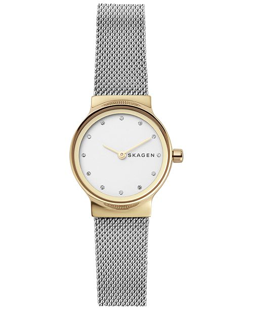 Skagen Women's Freja Stainless Steel Mesh Bracelet Watch 26mm