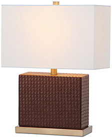 Safavieh Delia Faux Gator Table Lamp