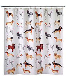 Avanti Dogs on Parade Shower Curtain