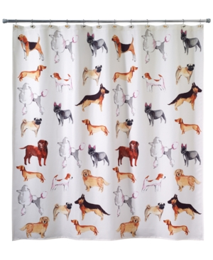 Avanti Dogs on Parade Shower Curtain Bedding