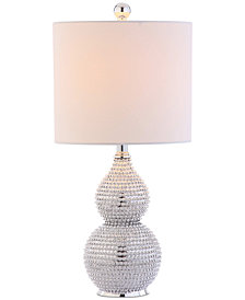 Safavieh Clarabel Chrome Table Lamp