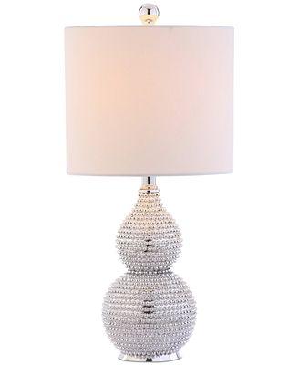 Safavieh Clarabel Chrome Table Lamp