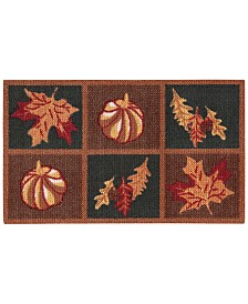 "Nourison Harvest Leaves 20"" x 30"" Accent Rug"