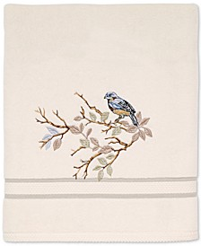 Love Nest Cotton Embroidered Bath Towel