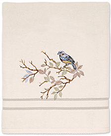 Avanti Love Nest Cotton Embroidered Bath Towel
