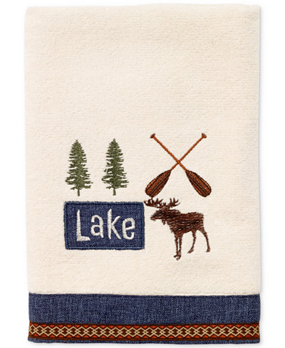 Avanti Lakeville Cotton Embroidered Hand Towel