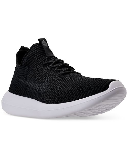 best loved 69b12 ecfb1 ... Nike Men s Roshe Two Flyknit V2 Casual Sneakers from Finish Line ...