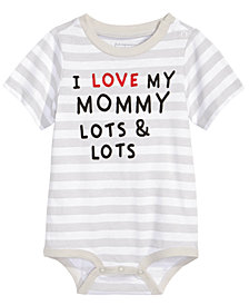First Impressions Cotton Love Mommy Bodysuit, Baby Boys, Created for Macy's