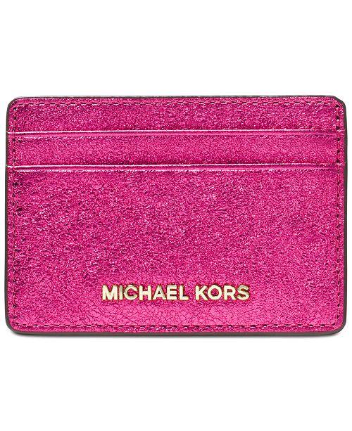 lowest price ebddf 7484f Michael Kors Money Pieces Card Holder & Reviews - Handbags ...