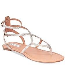 I N C Women S Maconn Flat Sandals Created For Macy