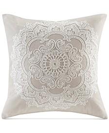 """Suzanna 18"""" Square Decorative Pillow"""
