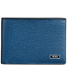 Tumi Men's Textured Leather Billfold Wallet
