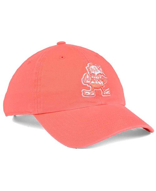 best service 82484 26049 ... low price 47 brand womens cleveland browns pastel clean up cap sports  fan shop by lids
