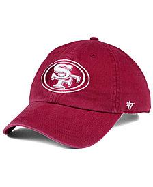 '47 Brand San Francisco 49ers Cardinal CLEAN UP Cap