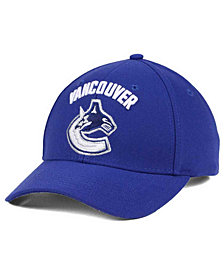 adidas Vancouver Canucks Core Basic Adjustable Snapback Cap