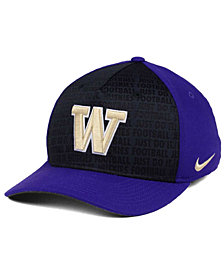 Nike Washington Huskies Just Do It Swooshflex Cap