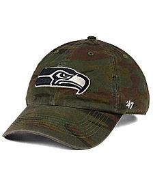 '47 Brand Seattle Seahawks Regiment CLEAN UP Cap