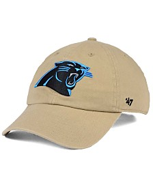 '47 Brand Carolina Panthers Khaki CLEAN UP Cap