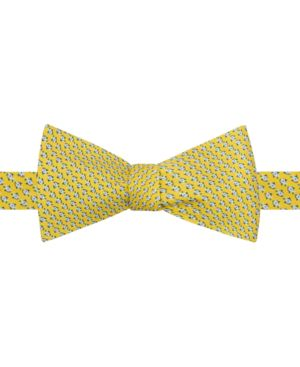 Tommy Hilfiger Men's Micro Fish To-Tie Silk Bow Tie thumbnail