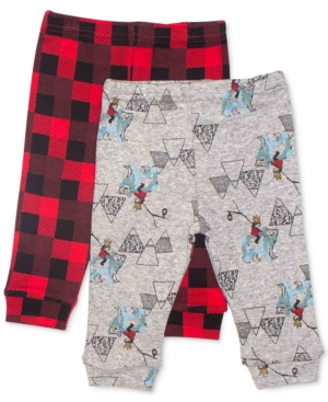 Rosie Pope 2Pk Cotton Printed Jogger Pants Baby Boys (024 months)