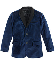I.N.C. Boy's Velvet Blazer, Created for Macy's