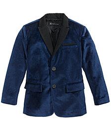 I.N.C. Boy's Velvet Blazer, Created for Macy's