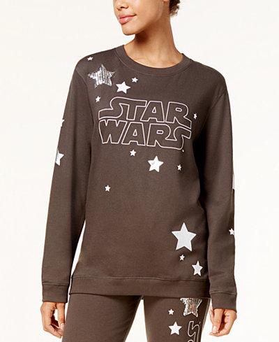 Star Wars Juniors' Logo Star Graphic Sweatshirt
