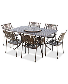 Hylton 8-Pc. Patio Set, Quick Ship