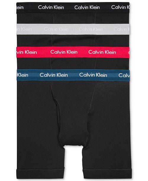 c91803590baf ... Calvin Klein 3-Pack Classic Boxer Briefs +1 Bonus Pair, Created for  Macy's ...