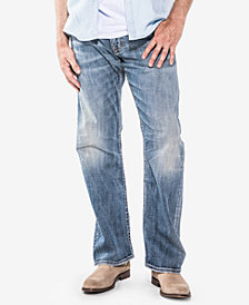 Silver Jeans Co. Men's Zac Relaxed Fit Straight Stretch Jeans