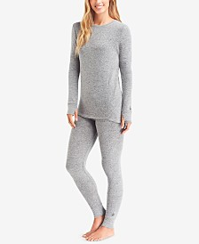 Cuddl Duds Soft Knit Top & Leggings