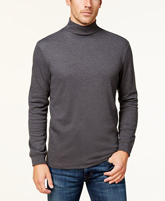 Club Room Men's Solid Mock-Neck, Created for Macy's - T ...