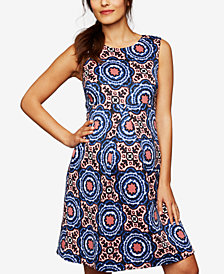 A Pea in the Pod Maternity Fit & Flare Dress