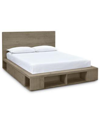 brandon storage california king platform bed created for macyu0027s