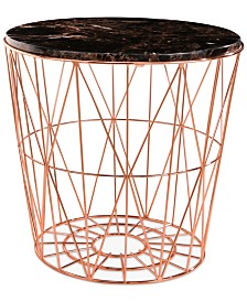 CLOSEOUT! Renee End Table, Quick Ship
