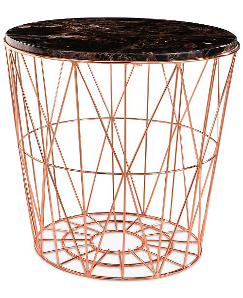 Abbyson Living CLOSEOUT! Renee End Table