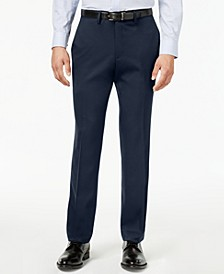 Men's Slim-Fit Stretch Gabardine Dress Pants