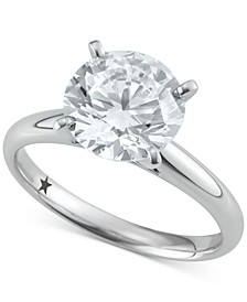 Solitaire Engagement Ring (3 ct. t.w.) in 14k White Gold