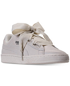 Puma Women's Basket Heart NS Casual Sneakers from Finish Line