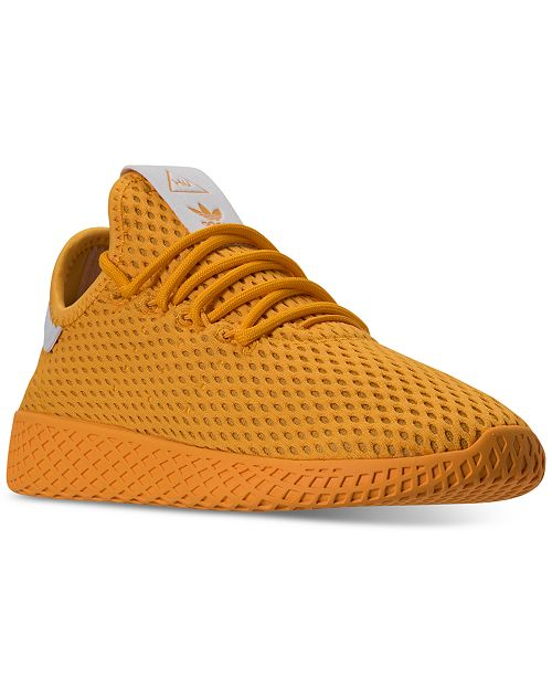 c972d2300b651 ... adidas Big Boys  Pharrell Williams Tennis HU Casual Sneakers from Finish  Line ...