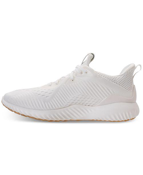 e5c15de88 adidas Women s AlphaBounce EM Un-Dyed Running Shoes from Finish Line ...