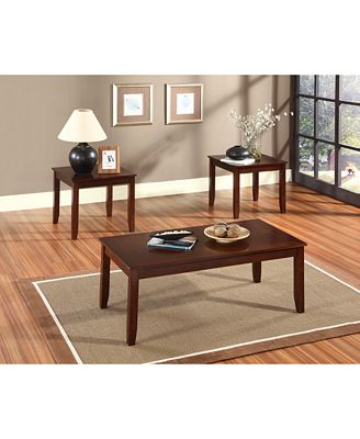 Staton 3 Pc Table Set Quick Ship Furniture Macy s