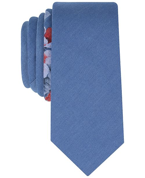 Bar III Men's Wanica Floral Skinny Tie, Created for Macy's