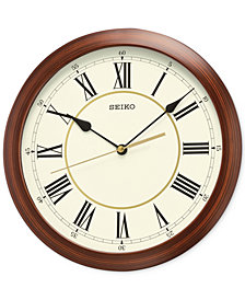 Seiko Wood-Look Wall Clock