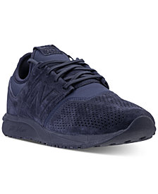 New Balance Men's 247 Suede Casual Sneakers from Finish Line