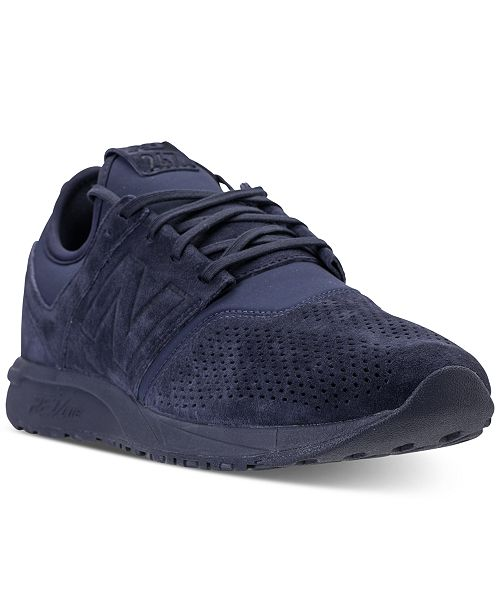 reputable site 65123 8d99c New Balance Men s 247 Suede Casual Sneakers from Finish ...